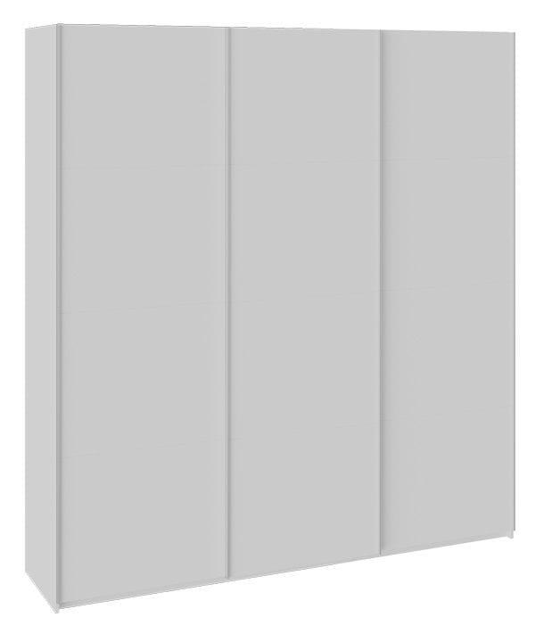 "Шкаф-купе 3-х дверный «Траст» СШК 2.210.70-11.11.11 ""белый снег"""