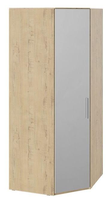 Шкаф угловой с зеркалом левый «Квадро», СМ-281.07.007 L