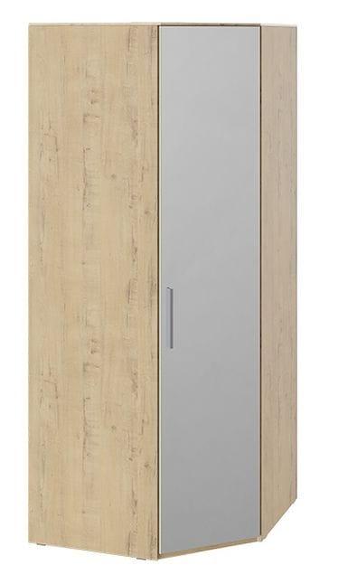 Шкаф угловой с зеркалом правый «Квадро», СМ-281.07.007 R