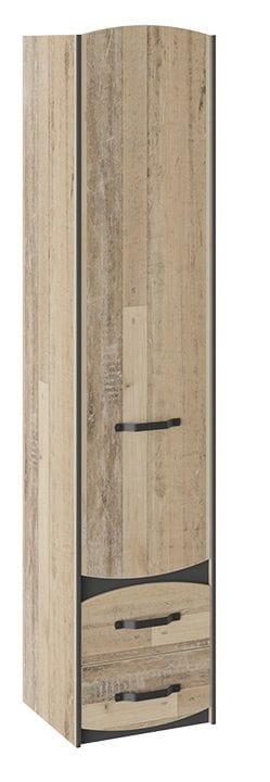 Шкаф для белья «Кристофер» (Фон Серый/Олд Стайл)
