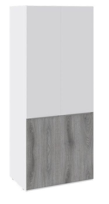 Шкаф для одежды «Синди» (Белый глянец/Дуб Гамильтон), СМ-320.07.213
