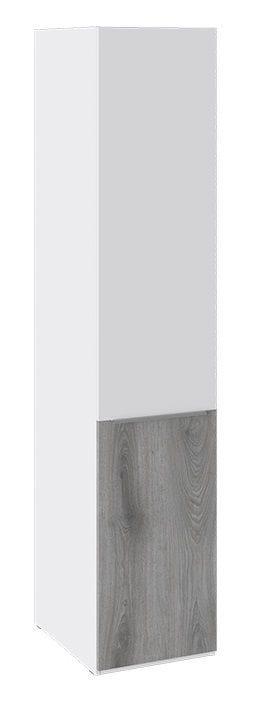 Шкаф для одежды «Синди» (Белый глянец/Дуб Гамильтон), СМ-320.07.113
