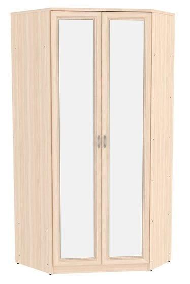 Угловой шкаф арт-403/2 несимметричный, с зеркалами