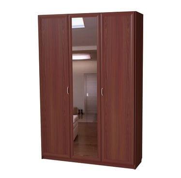Подъемная кровать вертикальная на 1400 с зеркалом С 311/1 М