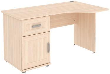 Стол угловой с тумбой и ящиком Г776.03
