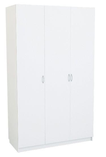 Шкаф белый для платья и белья 3-х дверный 804.54-54
