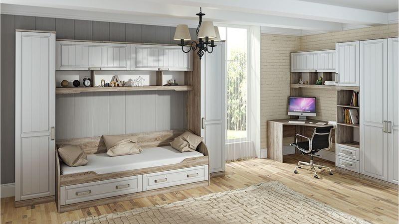 Набор детской мебели «Прованс» №4, ГН-223.104
