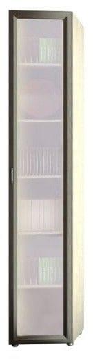 Шкаф 1-но дверный торцевой со стеклом 6.35