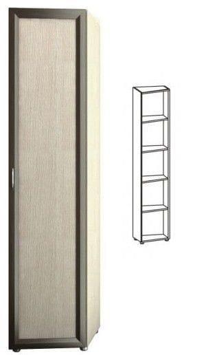 Шкаф 1-но дверный торцевой глубокий 5.38