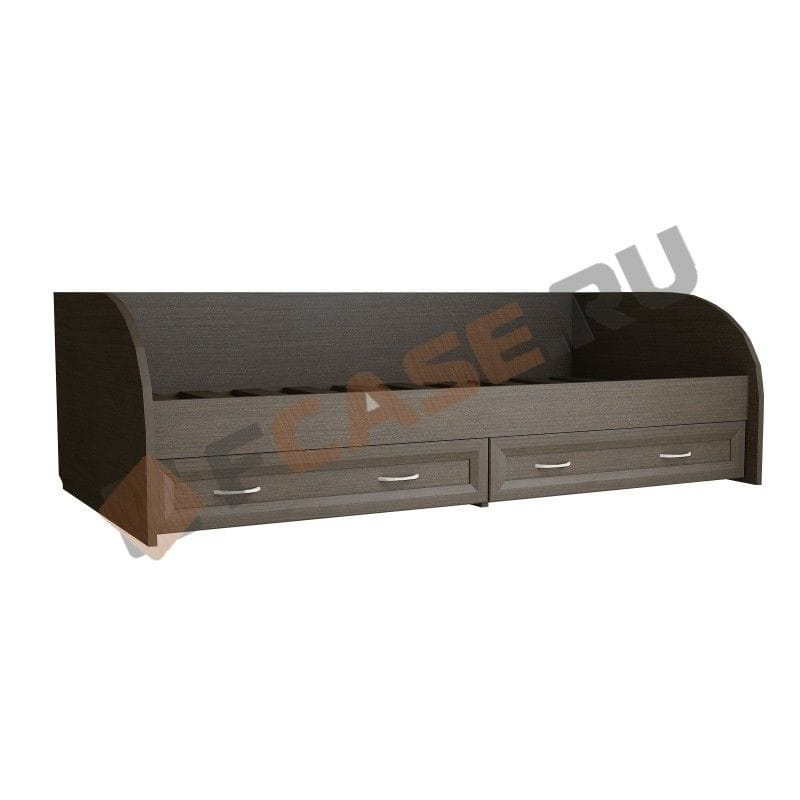 Кровать с ящиками МДФ 9.03