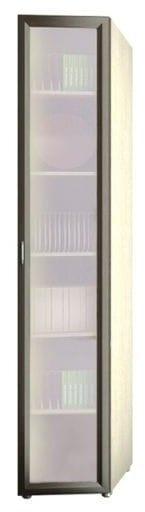 Шкаф 1-но дверный торцевой глубокий со стеклом 6.39