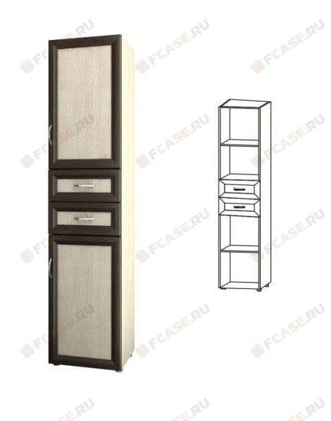 Шкаф 2-х дверный с 2-мя ящиками 5.04