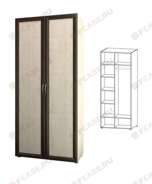 Шкаф для платья и белья 6.26