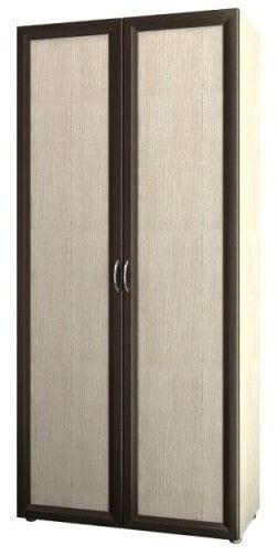 Шкаф 2-х дверный для одежды и белья узкий 5.19