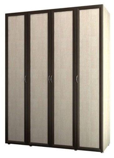 Шкаф 4-х дверный для одежды и белья 6.16
