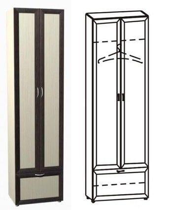 Шкаф 2-х дверный 12.18
