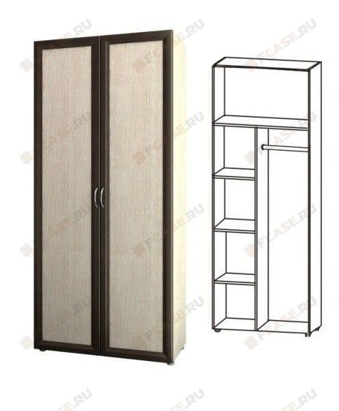 Шкаф для платья и белья 5.26