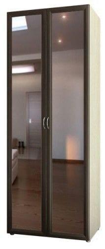Шкаф для платья и белья с зерк. дв. 6.27