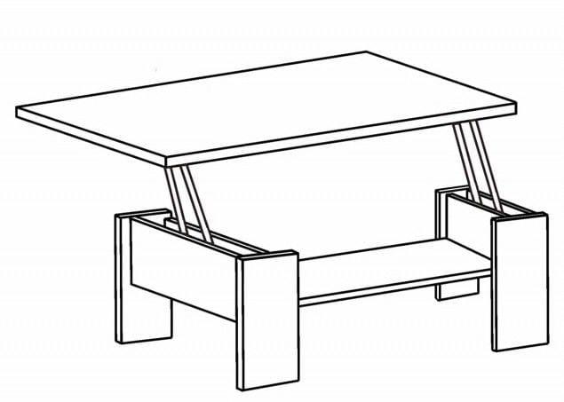 Стол трансформер 16.43