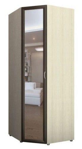 Шкаф угловой 1-но дверный с зеркалом 5.23