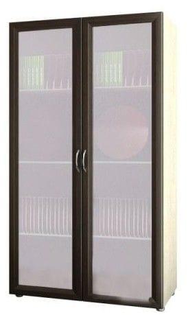 Шкаф 2-х дверный со стеклом 4.08