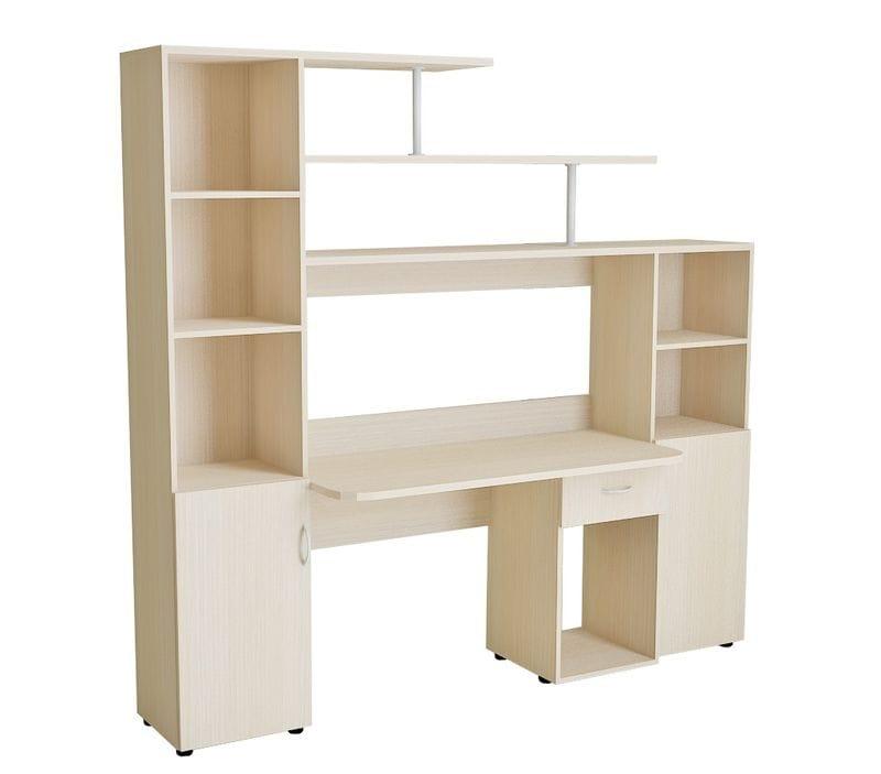 Компьютерный стол со шкафами 10.02