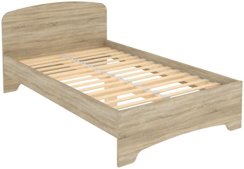 Кровать на 1200мм с ортопедическим основанием КМ12