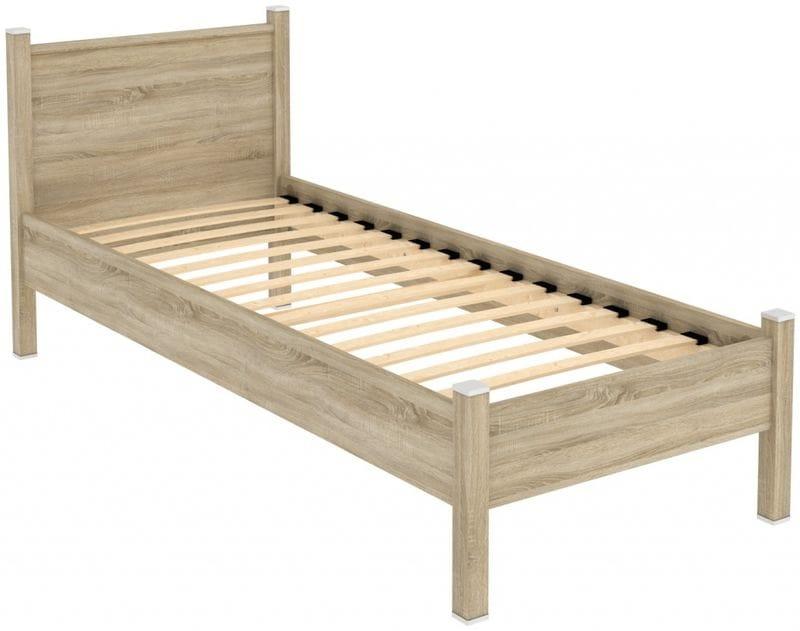 Кровать на 800мм с ортопедическим основанием 611