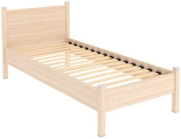 Кровать на 900мм с ортопедическим основанием 612