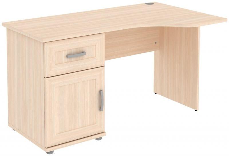 Стол угловой с тумбой и ящиком 776.03