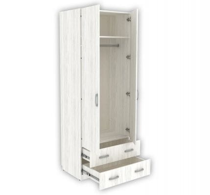 Шкаф для одежды Дарина арт. УШ05 цвет Арктика