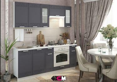 Кухонный гарнитур «Кремона», титан