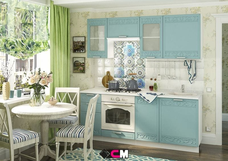 Кухонный гарнитур «Кремона», топаз