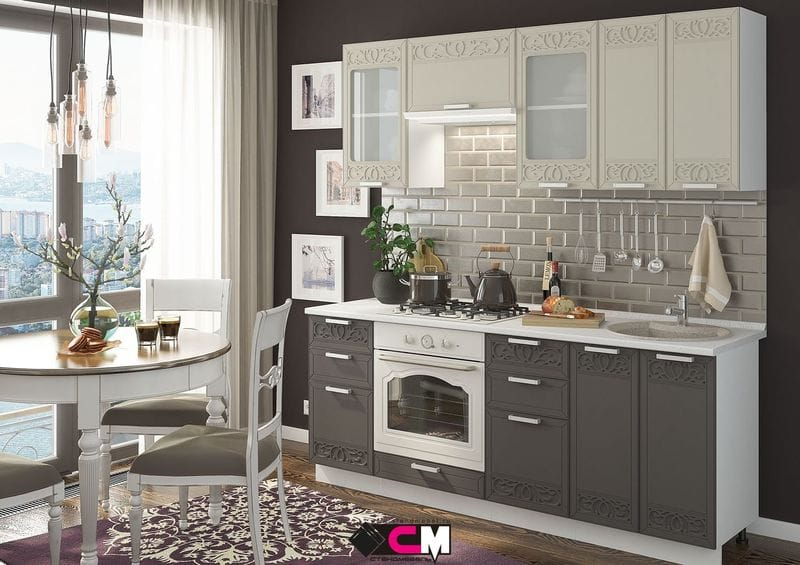 Кухонный гарнитур «Кремона», муссон-циркон