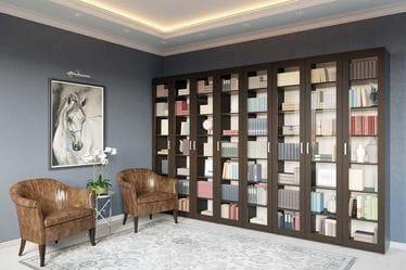 Библиотека со шкафами-витринами, Гарун-К №4