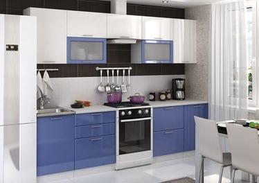 Кухонный гарнитур «Ксения», сизый
