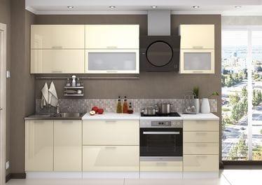Кухонный гарнитур «Ксения», ваниль