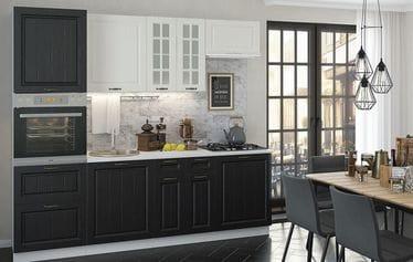 Кухонный гарнитур «Мария», черный