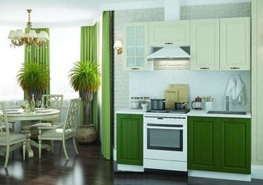 Кухонный гарнитур «Мария», крем-прованс