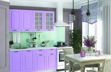 Кухонный гарнитур «Мария», сирень