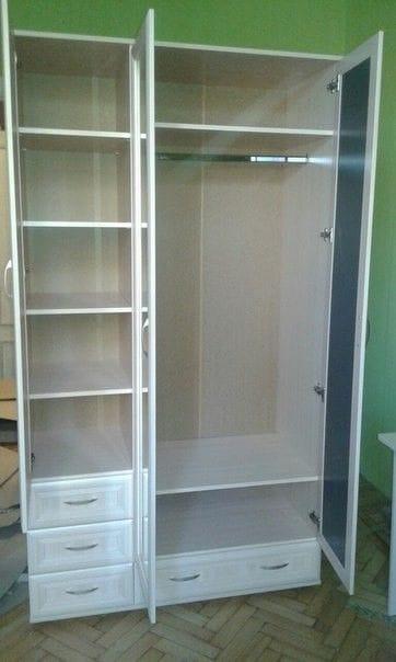 Трёхстворчатый шкаф мод-158