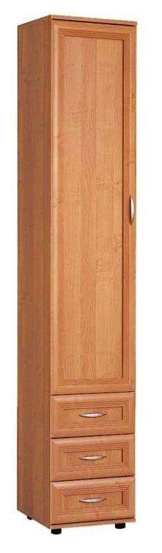 Узкий шкаф с полками и ящиками мод-113