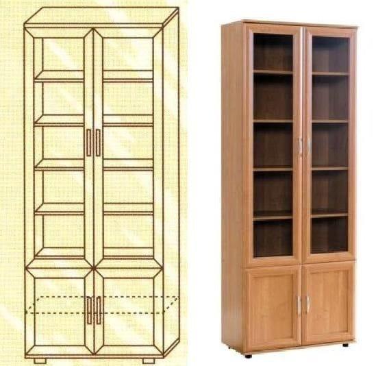 Книжный шкаф мод-108