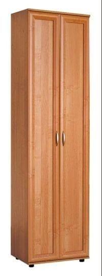 Узкий шкаф с полками мод-128п
