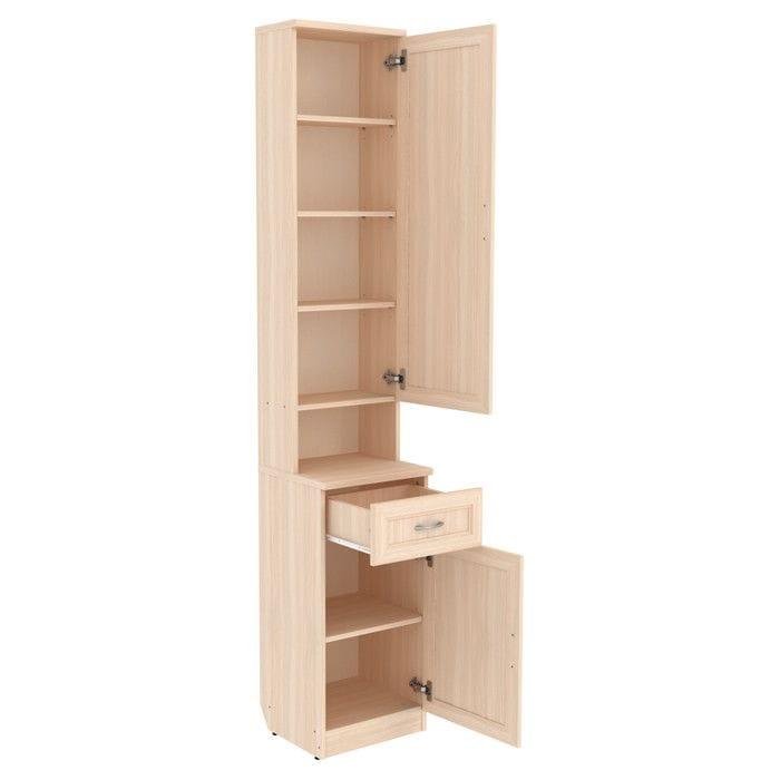 Шкаф для прихожей с полками и ящиком арт-ПР1