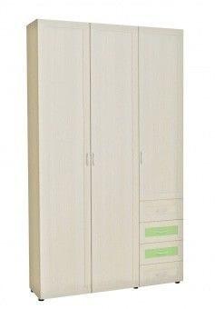 Шкаф 3-х дв. для одежды и белья с 4-мя ящ. 6.47 р