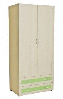Шкаф 2-х дверный с 2-мя ящиками глубокий 5.14р