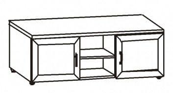Тумба 2-х дверная р1.05