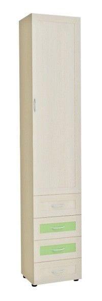 Шкаф 1-но дверный с 4-мя ящиками 6.45р