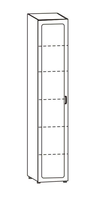Шкаф для белья однодверный, 36.01
